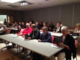Session de formation à la conférence annuelle de la Fédération des municipalités canadiennes.