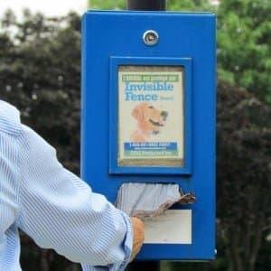 Dog bag dispenser