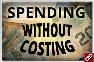 SPENDING WITHOUT COSTING