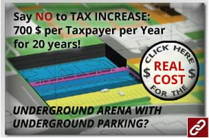 Click Here for the TRUE COST of the Underground Arena