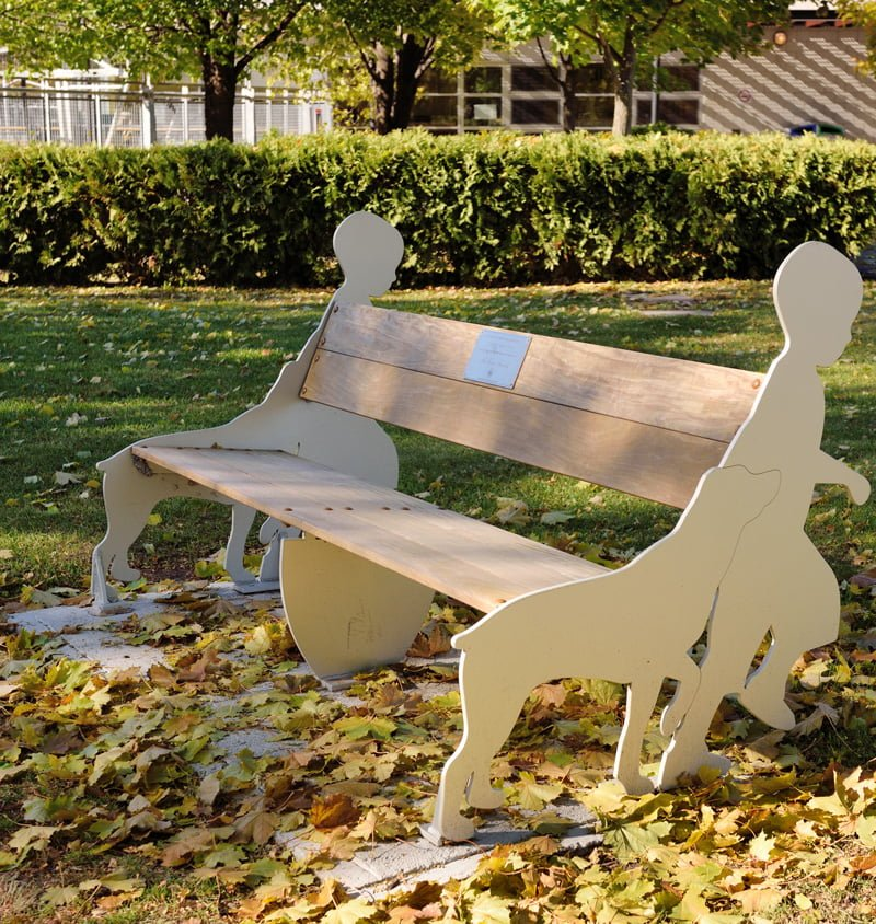 Hampstead Artistic Bench