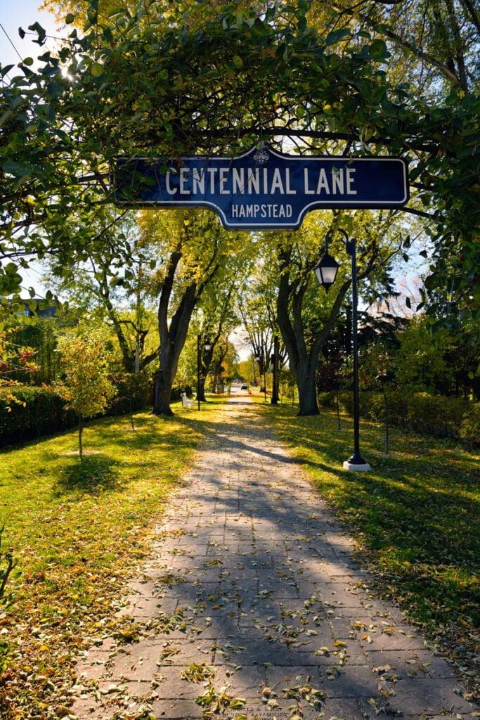 Hampstead Centennial Lane
